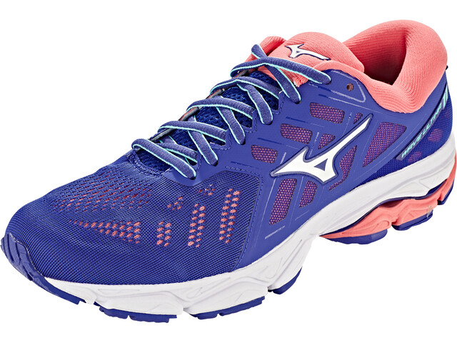 Mizuno Wave Ultima 11 Chaussures de running Femme, surf the web/white/sugar coral